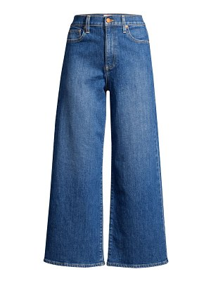 ALICE + OLIVIA JEANS gorgeous crop wide-leg jeans