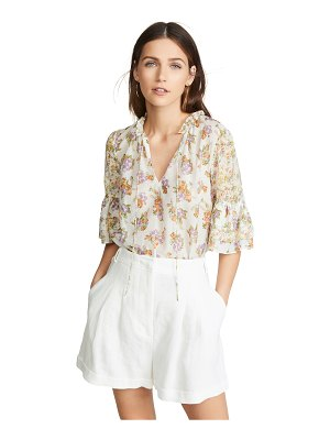 Alice + Olivia julius tier sleeve tunic top