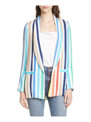 Alice + Olivia kylie shawl collar jacket