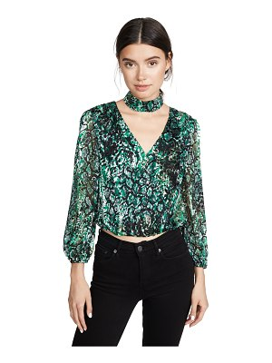 Alice + Olivia luba crop top