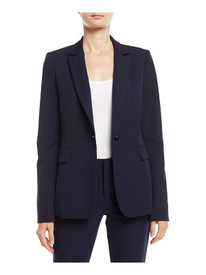 Alice + Olivia Macey Notch-Collar Blazer
