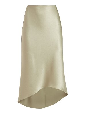 Alice + Olivia Maeve High-Low Slip Skirt