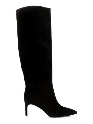 Alice + Olivia maven tall suede boots