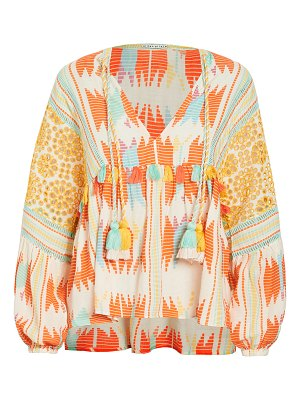 Alice + Olivia rosana embroidered tunic top