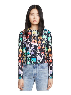 Alice + Olivia ruthy printed cardigan