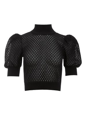 Alice + Olivia shonda puff sleeve sweater