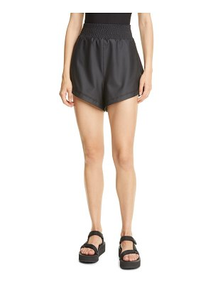 Alix nyc knox faux leather shorts