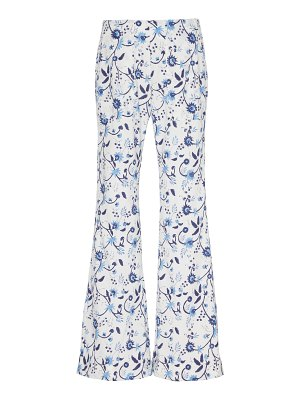Alix of Bohemia charlie cotton-voile flared pants