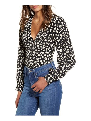 ALL IN FAVOR floral print blouse