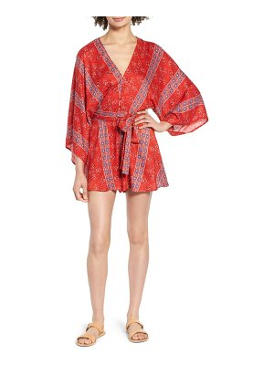 ALL IN FAVOR print romper