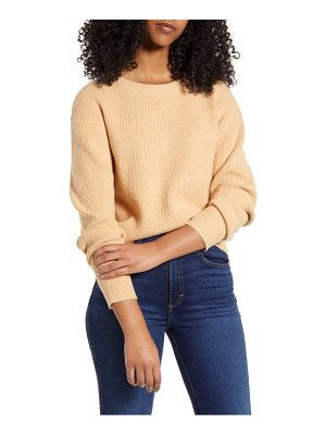 ALL IN FAVOR ribbed sweater