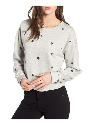 ALL IN FAVOR star print sweatshirt