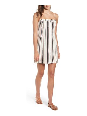 ALL IN FAVOR striped shift dress