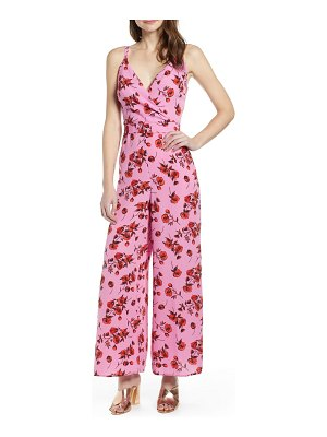 ALL IN FAVOR surplice jumpsuit