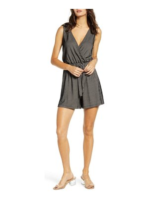 ALL IN FAVOR surplice romper