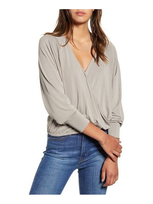 ALL IN FAVOR surplice top