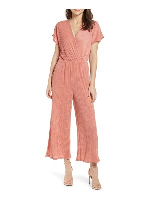 ALL IN FAVOR textured jumpsuit