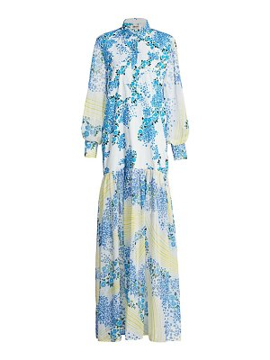 All Things Mochi alona printed maxi dress