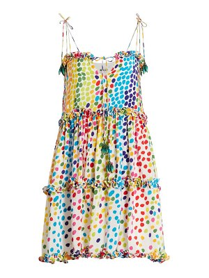 All Things Mochi blessica dot mini dress