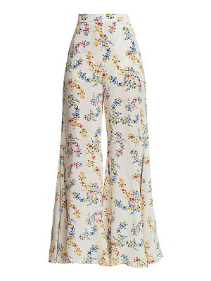 All Things Mochi coco printed wide-leg pants