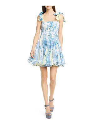 All Things Mochi darna floral minidress