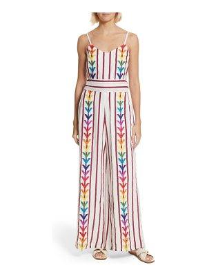 All Things Mochi lisa stripe jumpsuit