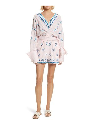All Things Mochi magda embroidered romper