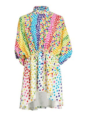All Things Mochi malaya multicolor polka dot dress