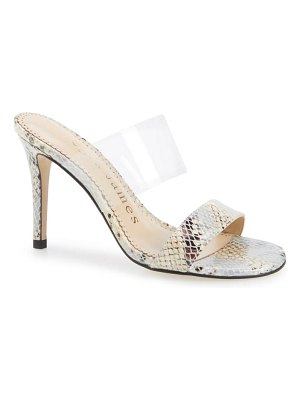 Allegra James dance double-band slide sandal