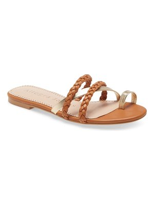 Allegra James lucy side sandal