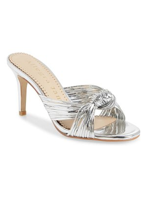 Allegra James marley knot slide sandal