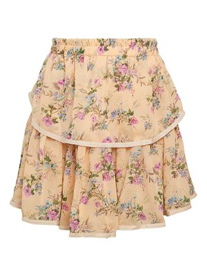 Allison New York Floral Tiered Skirt