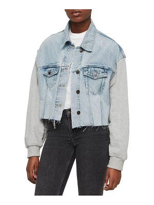 ALLSAINTS anders denim jacket