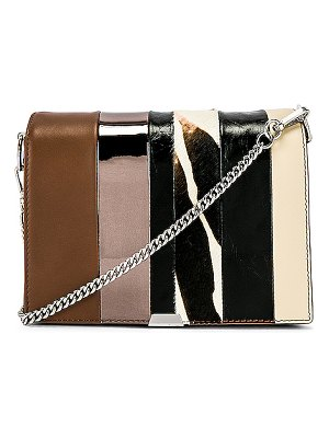 ALLSAINTS Captain Multi Flap Shoulder Bag