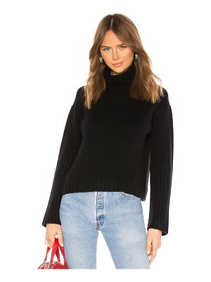 ALLSAINTS hanbury funnel neck cashmere sweater