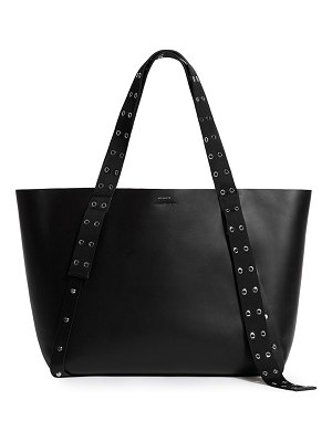 ALLSAINTS Kathi E/W Studded Leather Tote Bag