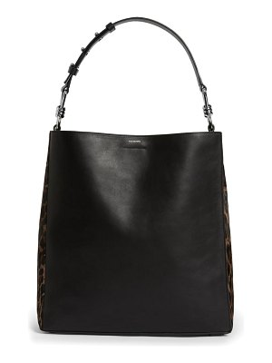 ALLSAINTS kim north/south leather tote