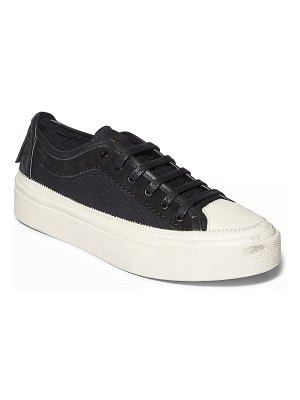ALLSAINTS Milla Low-Top Mixed Leather Sneakers