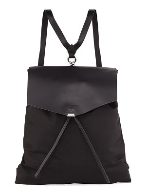 ALLSAINTS Nilo Flat Smooth Backpack
