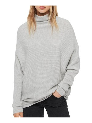 ALLSAINTS ridley funnel neck wool & cashmere sweater