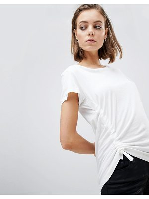 ALLSAINTS Sweat T-Shirt with Ruched Tie