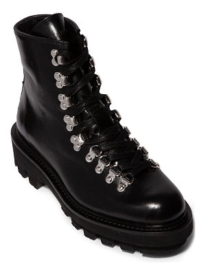 ALLSAINTS Wanda Leather Lace-Up Booties