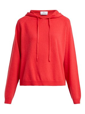 ALLUDE Cashmere Hooded Sweater