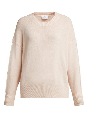ALLUDE Crew Neck Cashmere Sweater
