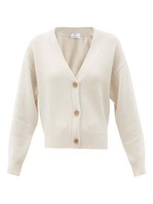 ALLUDE dropped-sleeve cashmere cardigan