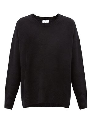 ALLUDE dropped-sleeve cashmere sweater