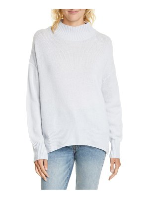 ALLUDE mock neck cashmere sweater