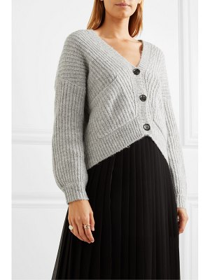 ALLUDE ribbed-knit cardigan