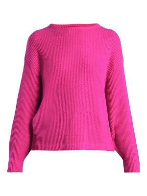 ALLUDE Ribbed-knit cashmere sweater