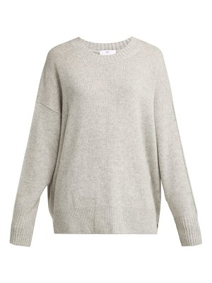 ALLUDE Round Neck Cashmere Sweater